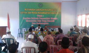 Suasana Muscab Muhammadiyah Cabang Bolo.