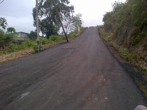 Akses jalan yang sudah mulus diaspal oleh Pemkot Bima.