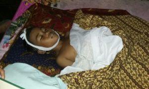 Mayat Imam sebelum dimakamkan..