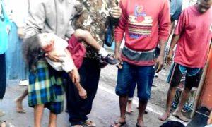 Lakalantas yang terjadi di Desa Bolo Kecamatan Madapangga, Selasa (16/8/2016) menewaskan dua anak.
