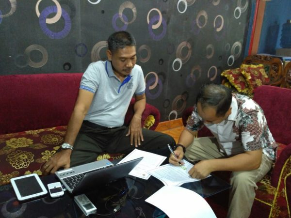 Kepala Career Center Sekolah Tinggi Ilmu Sosial dan Ilmu Polisik (STISIP) Mbojo Bima, Hadi Santoso, ST., MM.