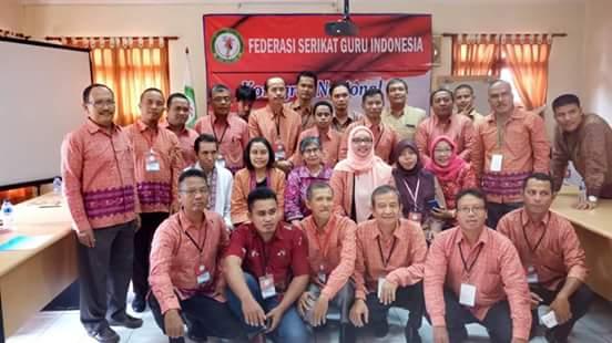 Peserta Kongres ke II, FGSI di Jakarta.