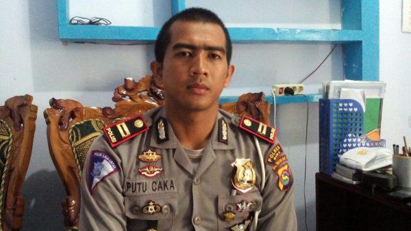 Kasat Lantas Polres Bima Kabupaten, IPTU Caka Gde Putu, SH, SIK.