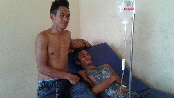 Korban Lakalantas dirawat di RSUD Kabupaten Bima.