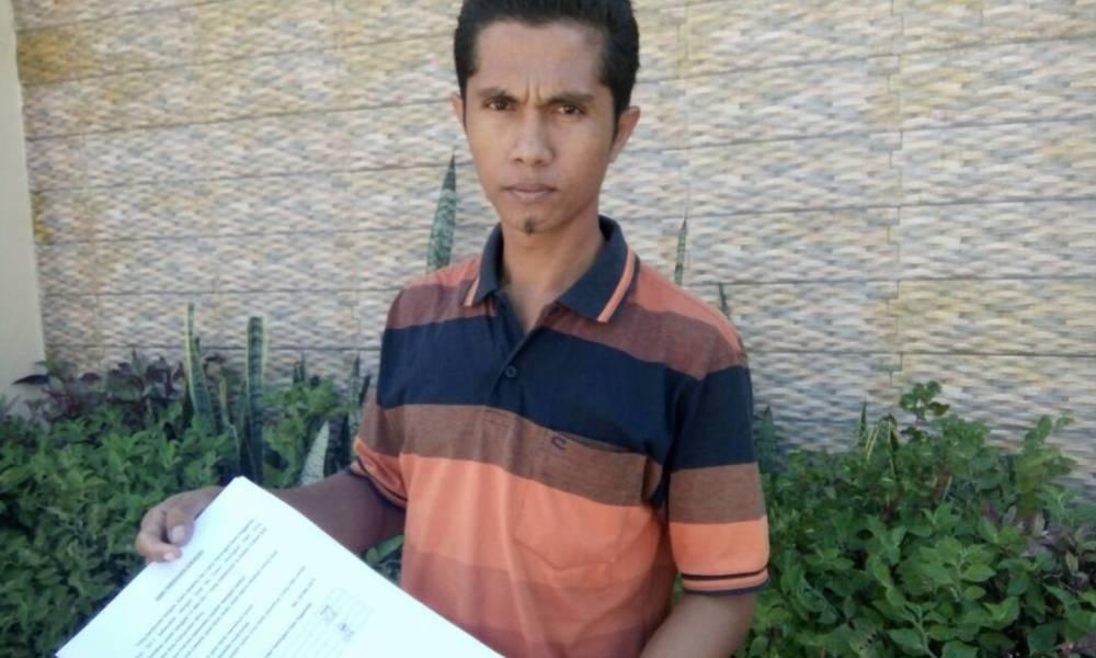 Protes Seleksi Perangkat Desa Nggembe Hanafi Ajukan Surat Bimakini