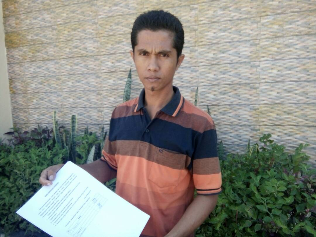 Protes Seleksi Perangkat Desa Nggembe Hanafi Ajukan Surat